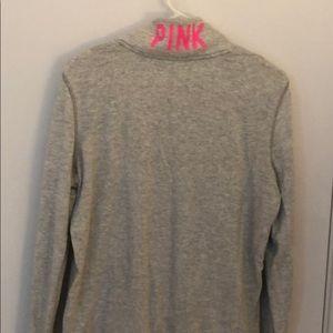 PINK Victoria's Secret Tops - Victoria's Secret Pink quarter zip sweatshirt